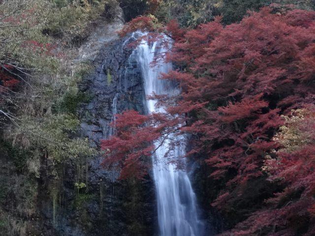 """7. น้ำตกที่ได้รับการคัดเลือกให้เป็นน้ำตกยอดเยี่ยมร้อยสาย """"น้ำตกมิโน"""" (Mino Waterfall)"""