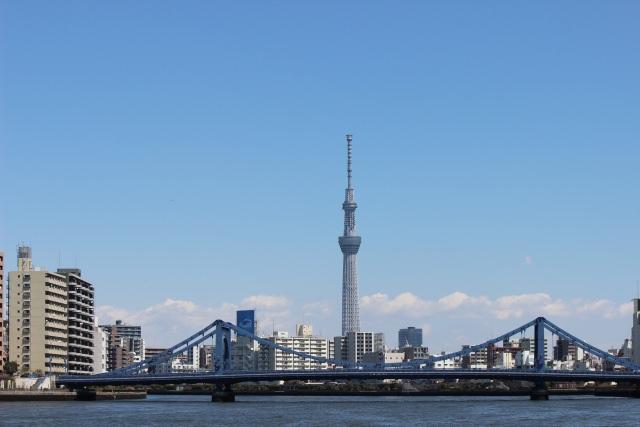 1. ดูวิวจากทาวเวอร์ที่สูงที่สุดในโลก「โตเกียวสกายทรี 」
