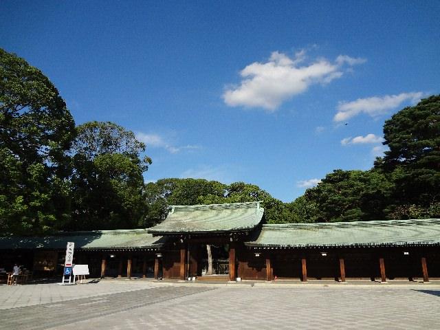 3. สถานที่ท่องเที่ยวทางประวัติศาสตร์ของโตเกียว 「วัดเมจิชินกู」