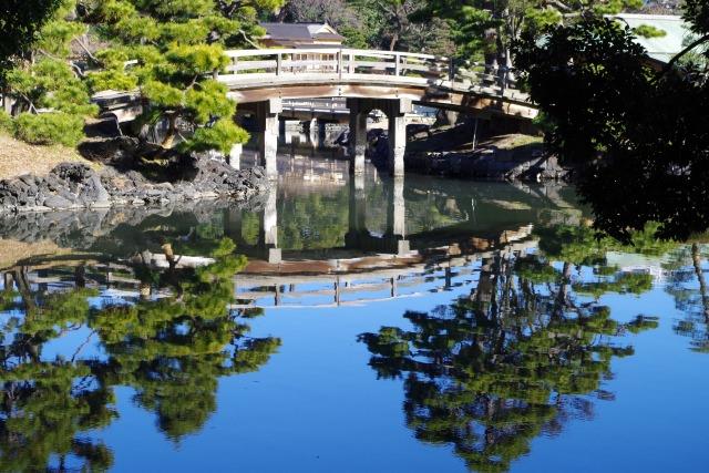 สวนฮามาริคิว (Hamarikyu Garden)