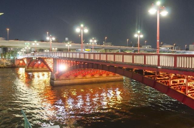 7. จุดชมวิวที่งดงามสุดๆ เหมาะกับสะพานอาซึมะบาชิ! (Azumabashi Bridge)