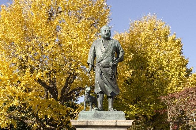2. รูปปั้น ไซโก ตะกาโมริ