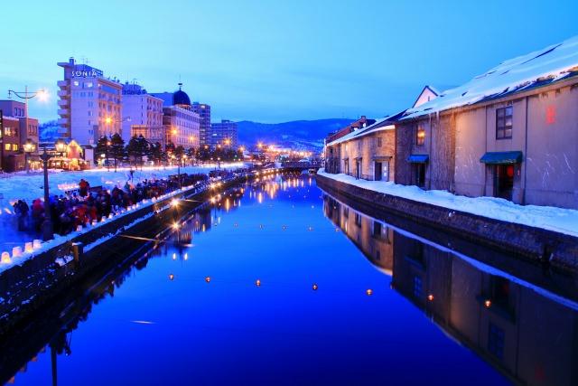 """2. """"คลองโอตารุ"""" บรรยากาศริมคลองในอดีตอันแสนอบอุ่น(Otaru Canal)"""