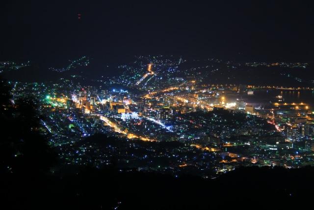 4. เที่ยวชมวิวเมืองโอตารุยามค่ำคืน「จุดชมวิวเคะนาชิยามะ」