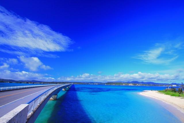 2. ทะเลล้อมรอบทุกด้าน「Ko-u-ri-o-hashi」สะพานโคะอุริโอฮาชิ