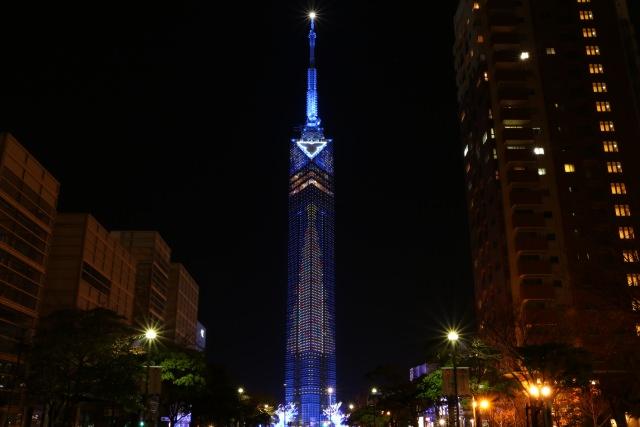 5. 「ฟุคะโอกะทาวเวอร์」สถานที่ท่องเที่ยวที่เป็นสัญลักษณ์ของฟุคุโอกะ