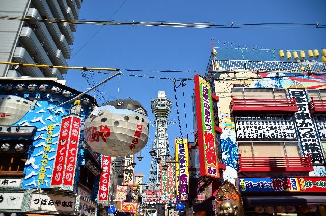 """5. """"ชินเซะไค"""" และ """"ซือเทนคาคุ"""" ที่สามารถรู้สึกถึงชุมชนโบราณที่สมกับเป็นโอซาก้า"""
