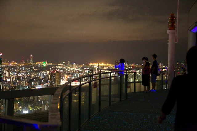 """3. สามารถมองเห็นเมืองโอซาก้าได้ทั่ว """"หอชมวิว สกายบิ้ลท์"""""""