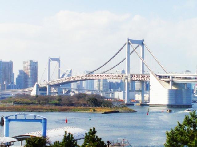8. ถนนชื่อดังของโตเกียว Rainbow Bridge