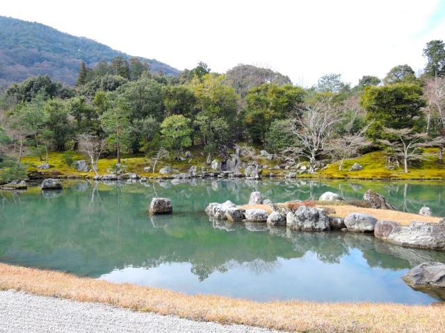 9. ชำระล้างจิตใจด้วยความงดงามของสวน มรดกโลกวัดเท็นริวจิ 「天龍寺」